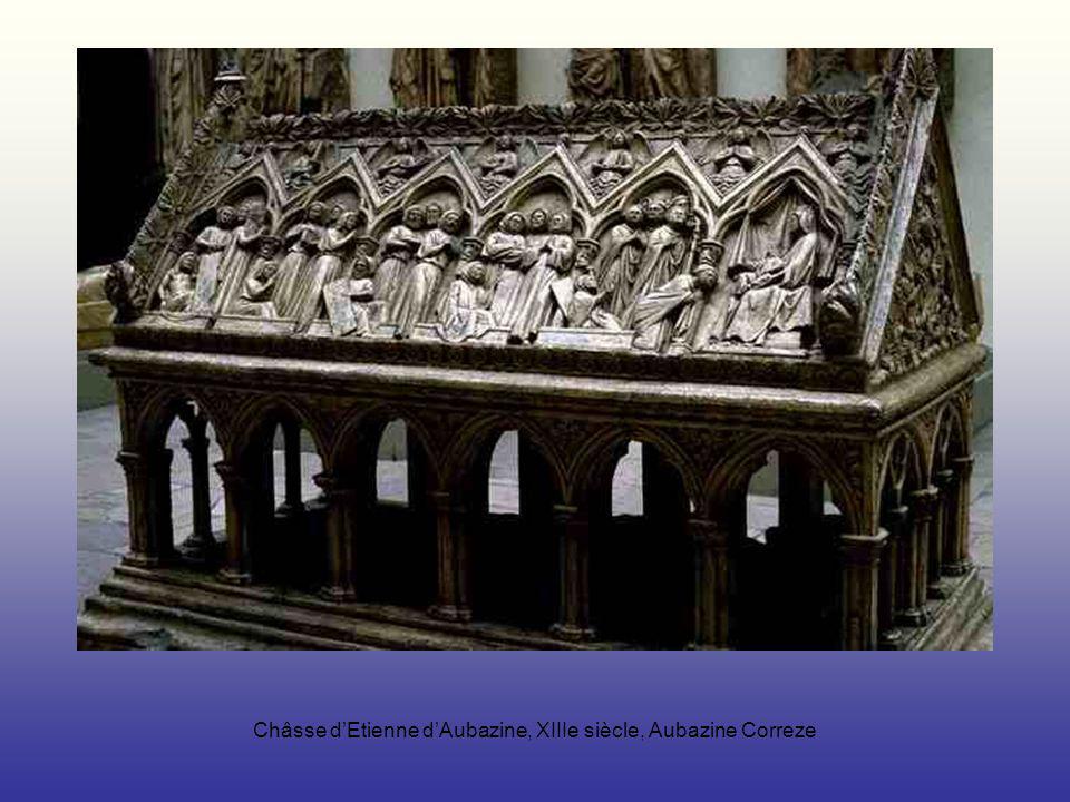 Châsse dEtienne dAubazine, XIIIe siècle, Aubazine Correze