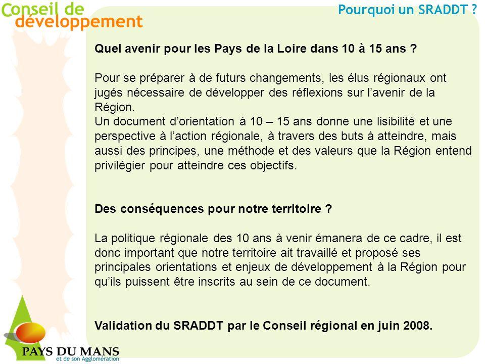 Quel avenir pour les Pays de la Loire dans 10 à 15 ans ? Pour se préparer à de futurs changements, les élus régionaux ont jugés nécessaire de développ