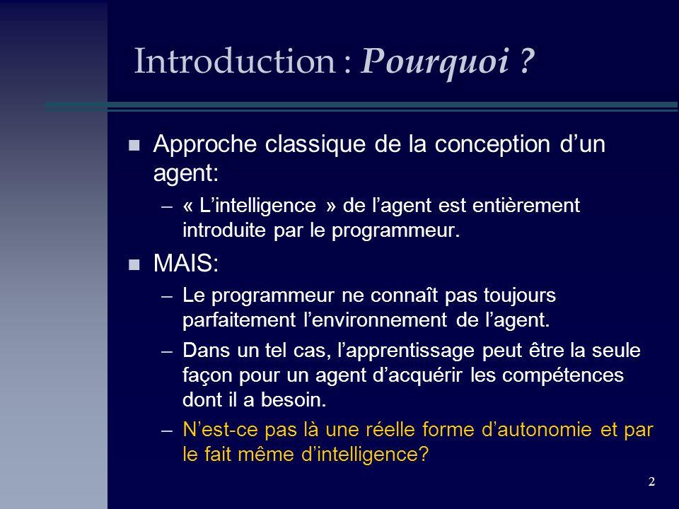 3 Introduction : Comment .n Apprendre pour un humain: facile.