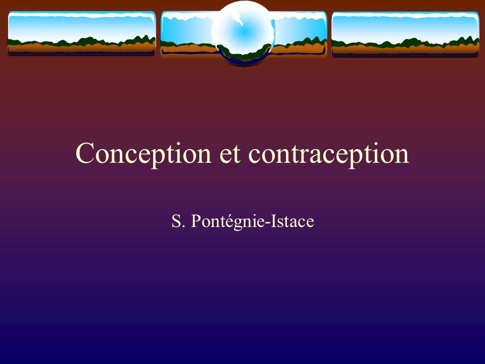 La maîtrise de la reproduction Les techniques de contraception 1.