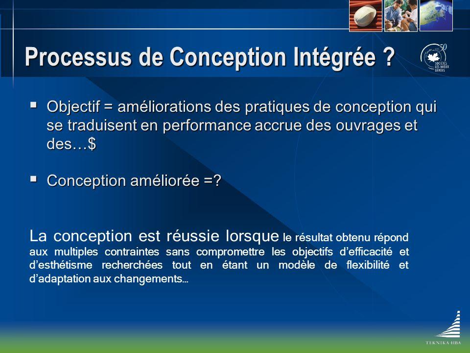 Processus de Conception Intégrée .