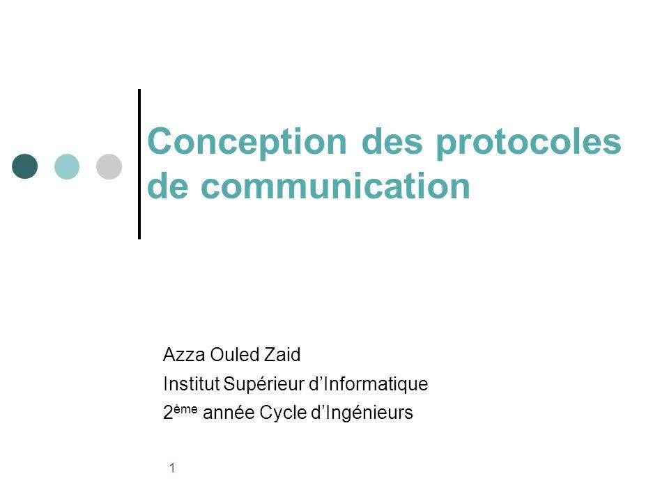12 Protocole bien formé Ne doit pas contenir des codes inatteignables ou inexécutables.