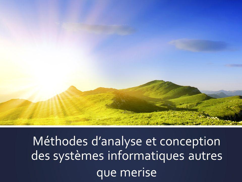 Méthodes danalyse et conception des systèmes informatiques autres que merise