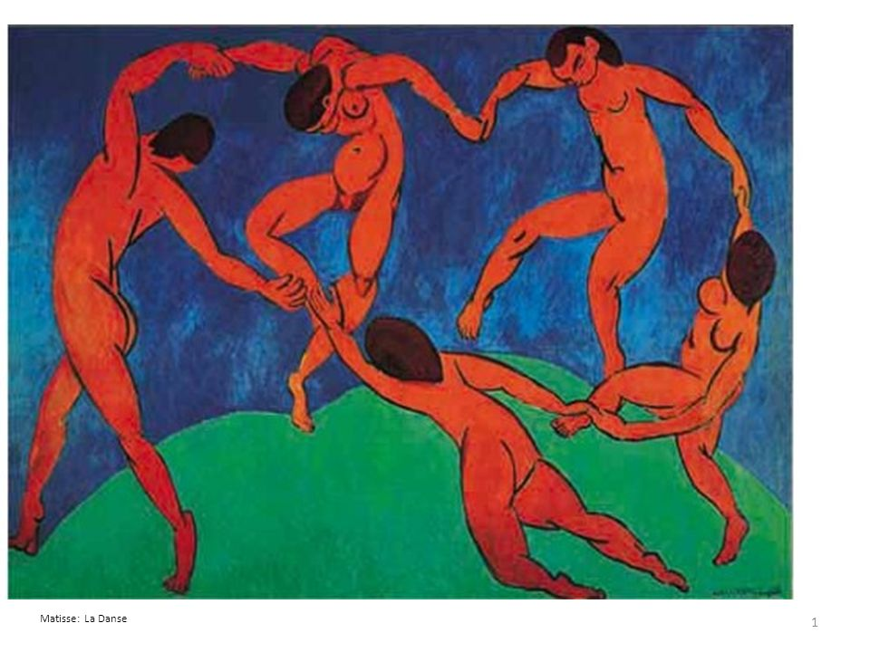 Matisse: La Danse 1