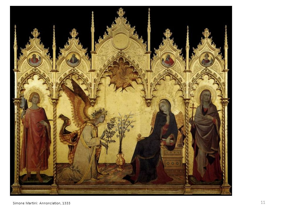Simone Martini: Annonciation, 1333 11