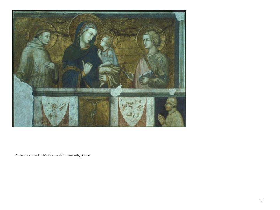 Pietro Lorenzetti: Madonna dei Tramonti, Assise 13