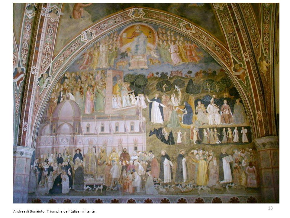 Andrea di Bonaiuto: Triomphe de lEglise militante 18