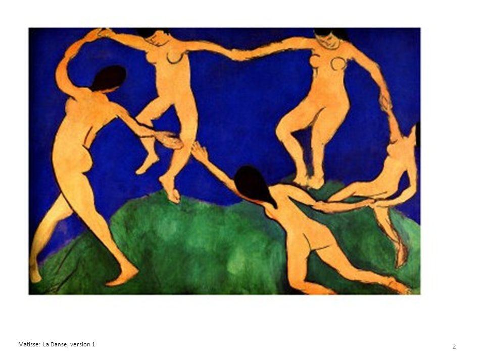 Matisse: La Danse, version 1 2