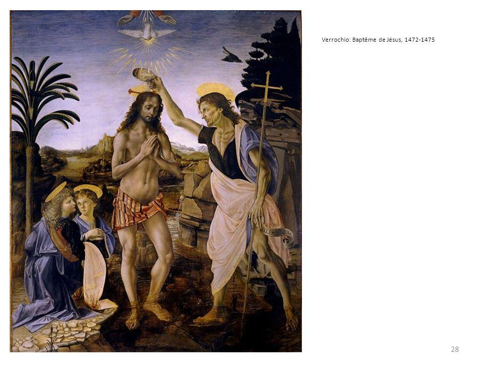 Verrochio: Baptême de Jésus, 1472-1475 28