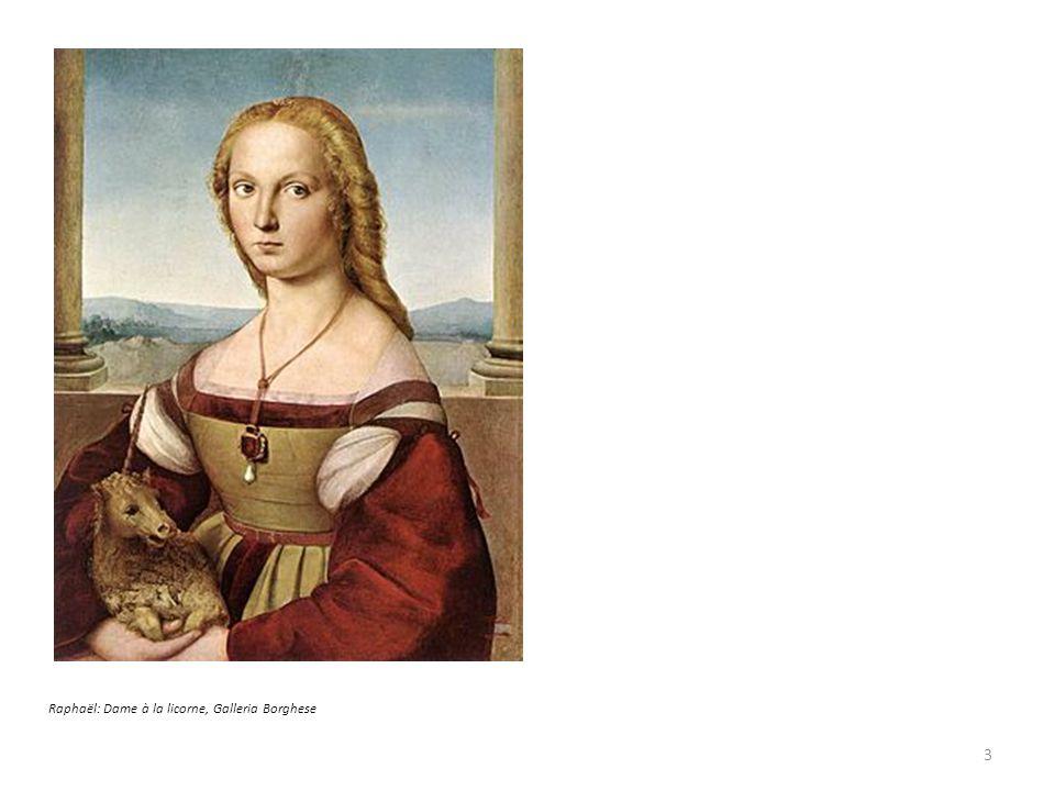 Raphaël: Dame à la licorne, Galleria Borghese 3