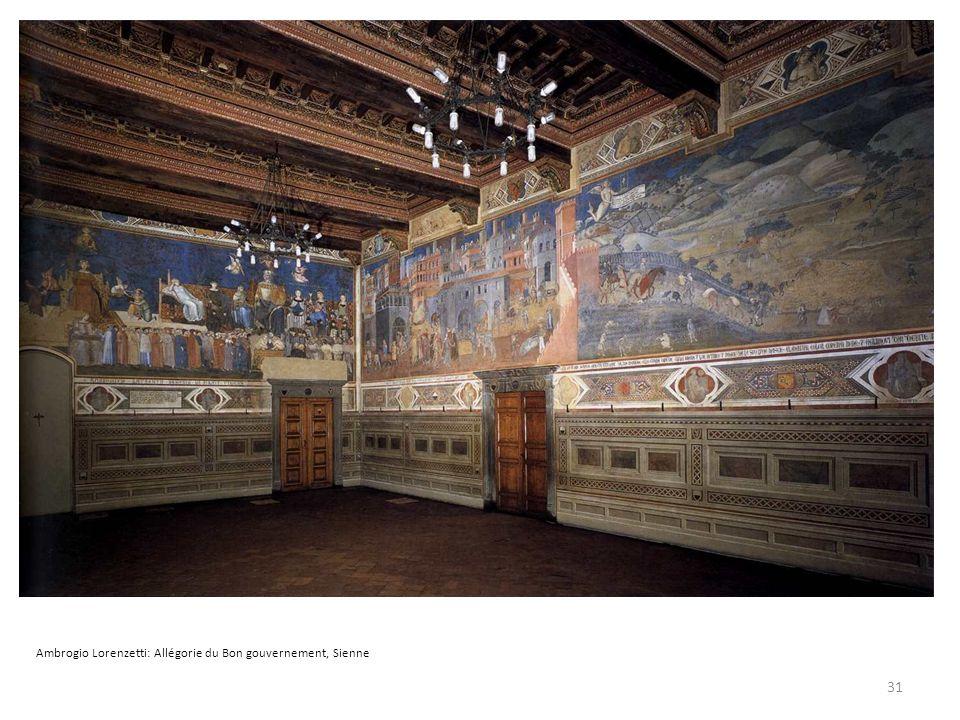 Ambrogio Lorenzetti: Allégorie du Bon gouvernement, Sienne 31