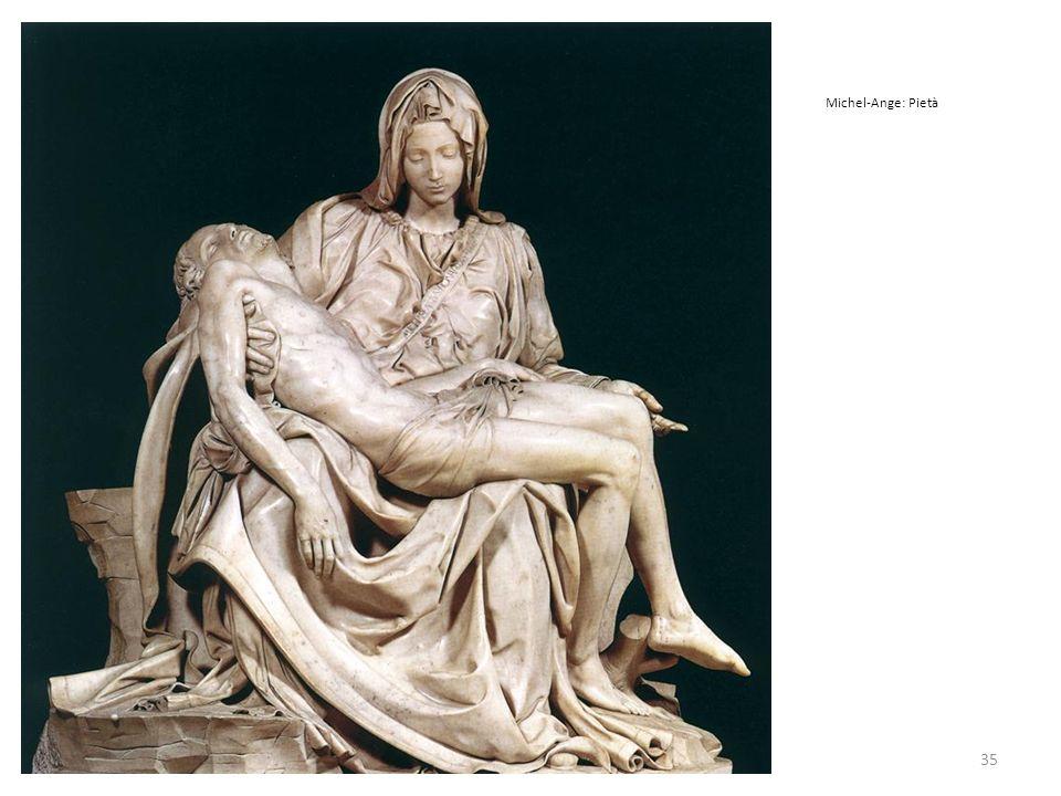 35 Michel-Ange: Pietà