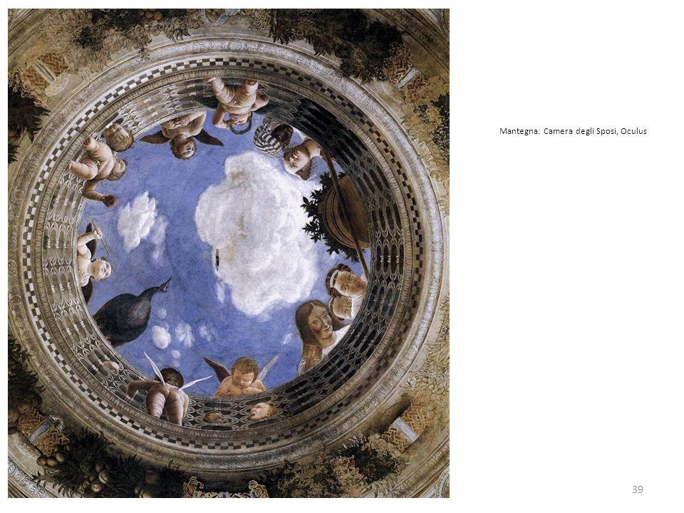 39 Mantegna: Camera degli Sposi, Oculus
