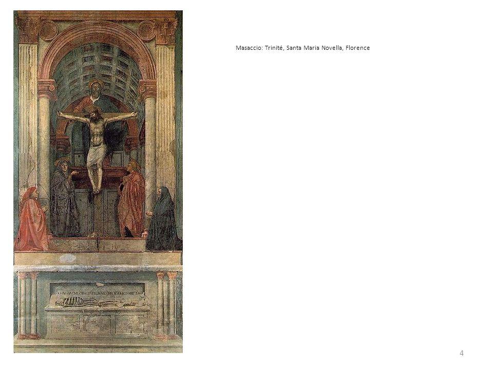 Masaccio: Trinité, Santa Maria Novella, Florence 4