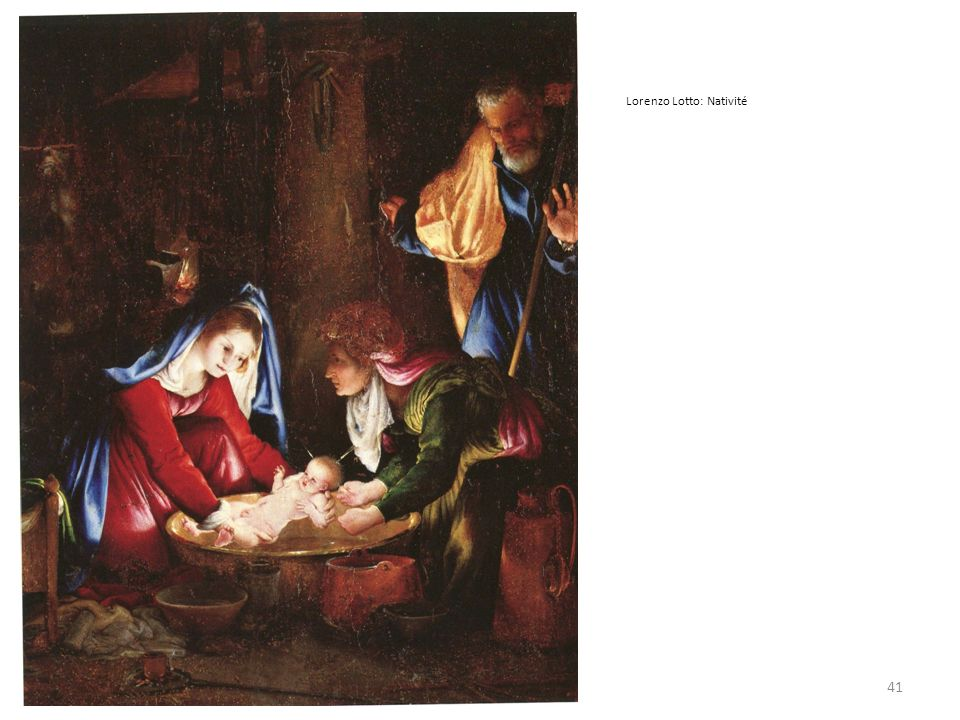41 Lorenzo Lotto: Nativité
