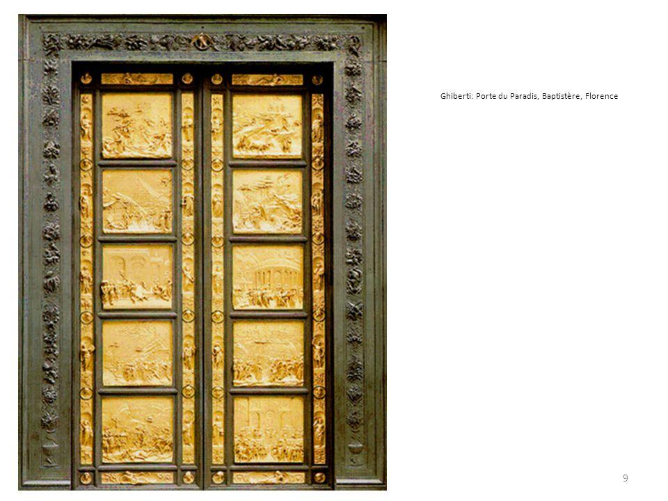 Ghiberti: Porte du Paradis, Baptistère, Florence 9