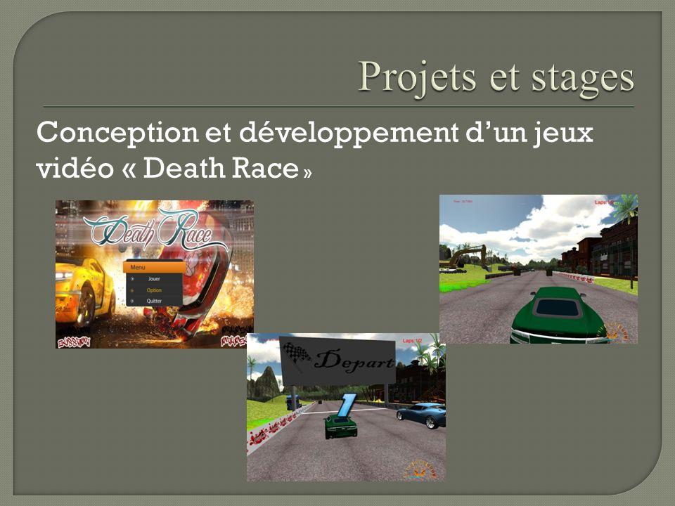 Conception et développement dun jeux vidéo « Death Race »
