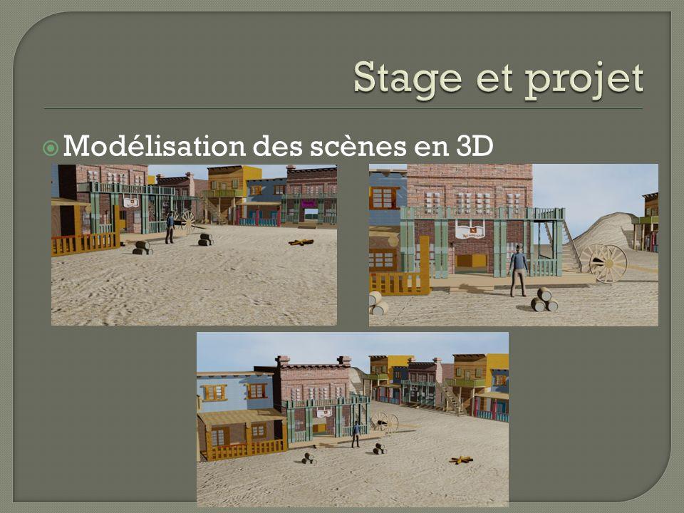 Modélisation des scènes en 3D