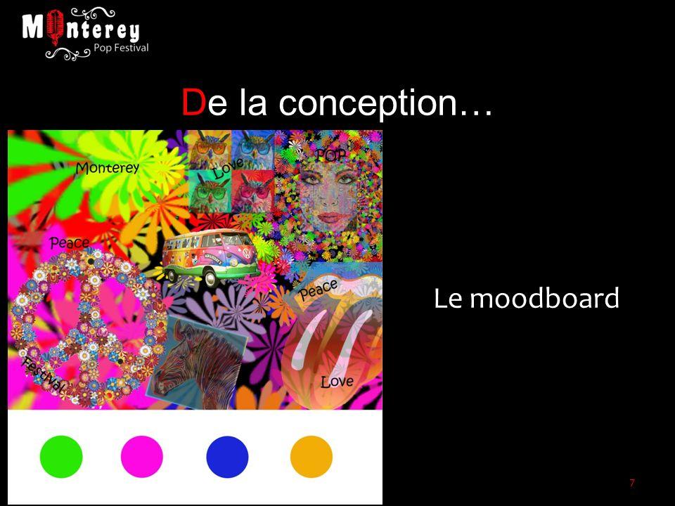 De la conception… Le moodboard 7