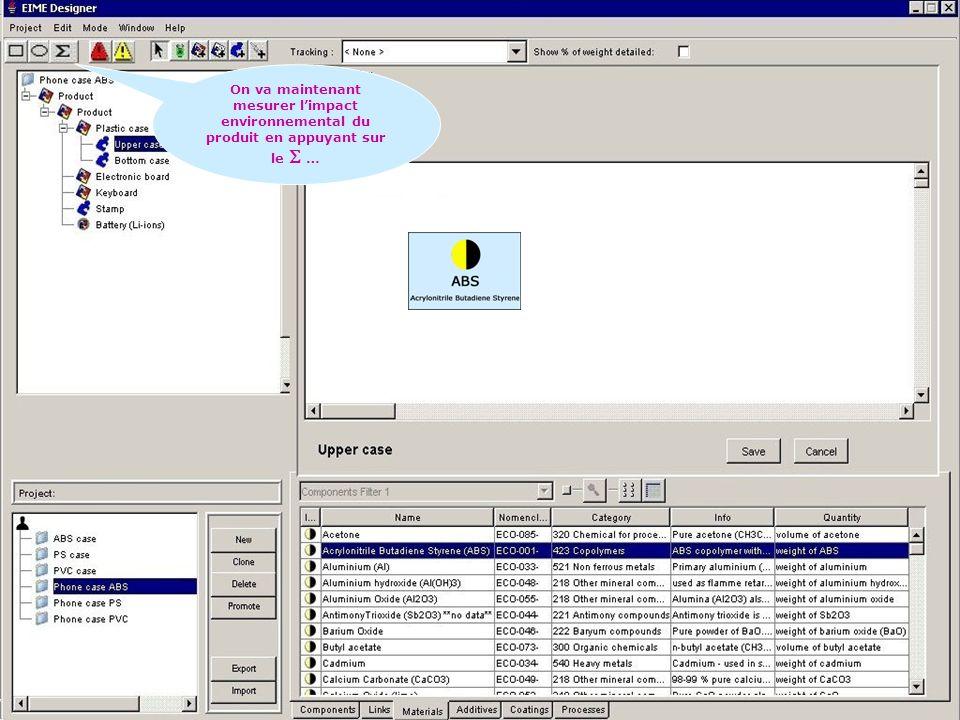 17/35 Cadarache les 31 janvier et 1 février 2006 Séminaire nouveau BTS ELECTROTECHNIQUE http://stielec.ac-aix-marseille.fr On va maintenant mesurer limpact environnemental du produit en appuyant sur le …