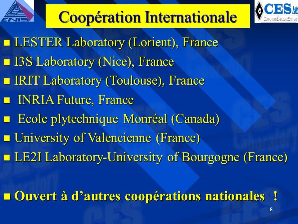 8 LESTER Laboratory (Lorient), France LESTER Laboratory (Lorient), France I3S Laboratory (Nice), France I3S Laboratory (Nice), France IRIT Laboratory