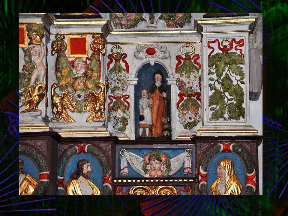 Saint Yves, entre le riche et le pauvre.