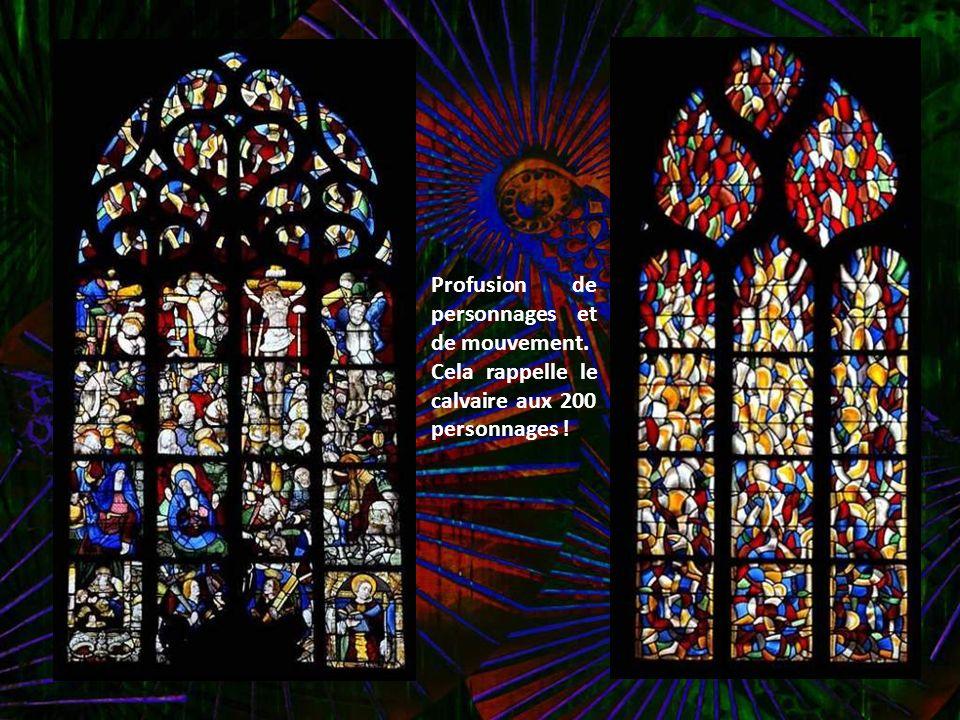 Bannière 1658 : d un côté le St Sacrement, de l autre le Rosaire.