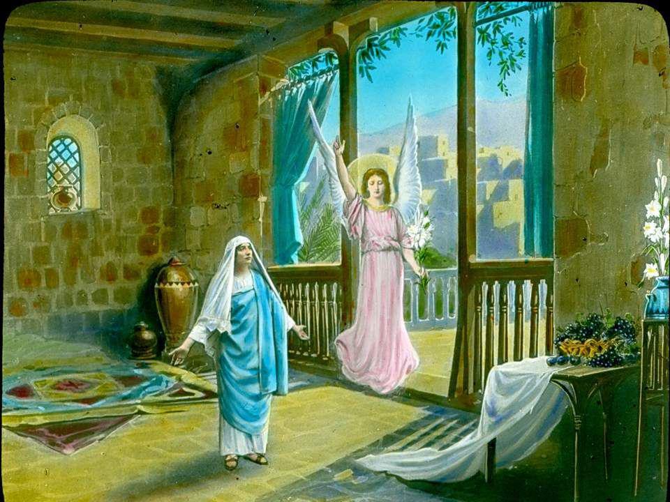Si je te contemplais dans ta sublime gloire Et surpassant l'éclat de tous les bienheureux Que je suis ton enfant je ne pourrais le croire Ô Marie, dev