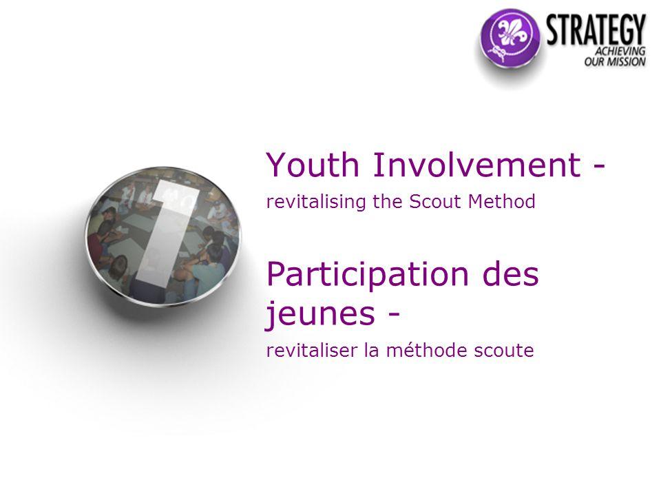 The perception in associations of the extent of young people s involvement in decision-making La perception dans les associations de la participation des jeunes à la prise de décision