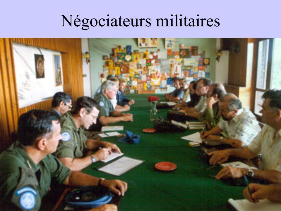 Négociateurs militaires