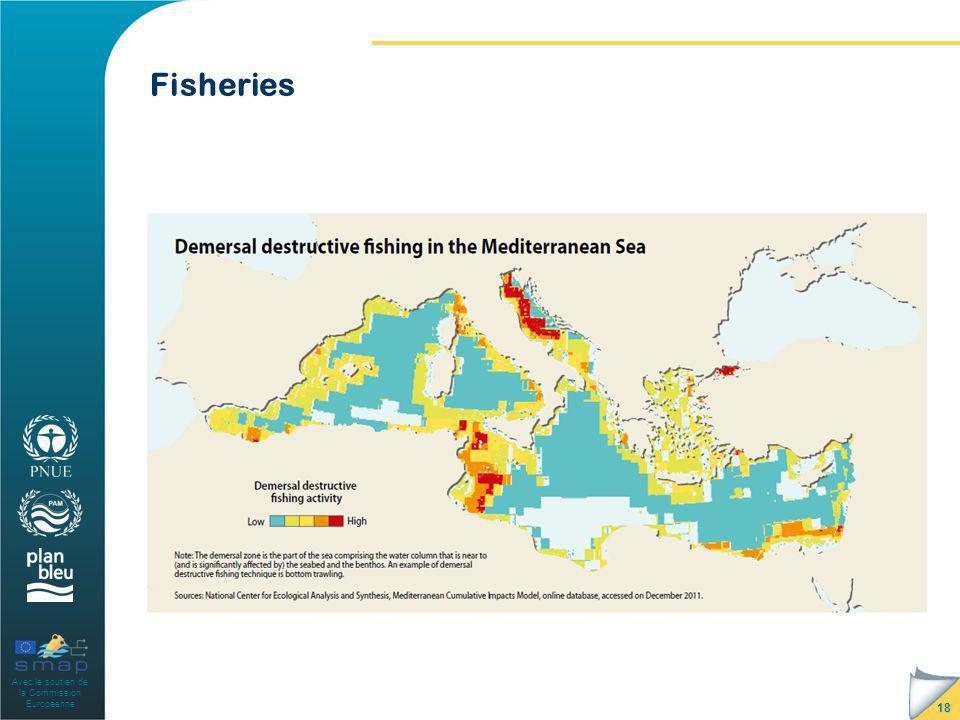 Avec le soutien de la Commission Européenne Fisheries 18