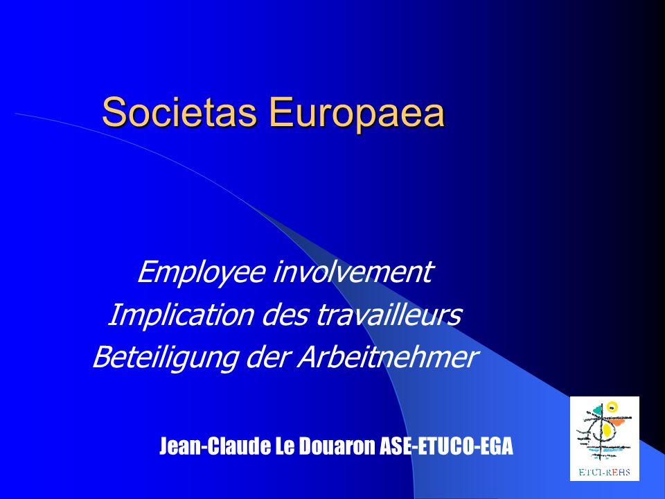 SE SE Statute Dualistic Monistic SNB