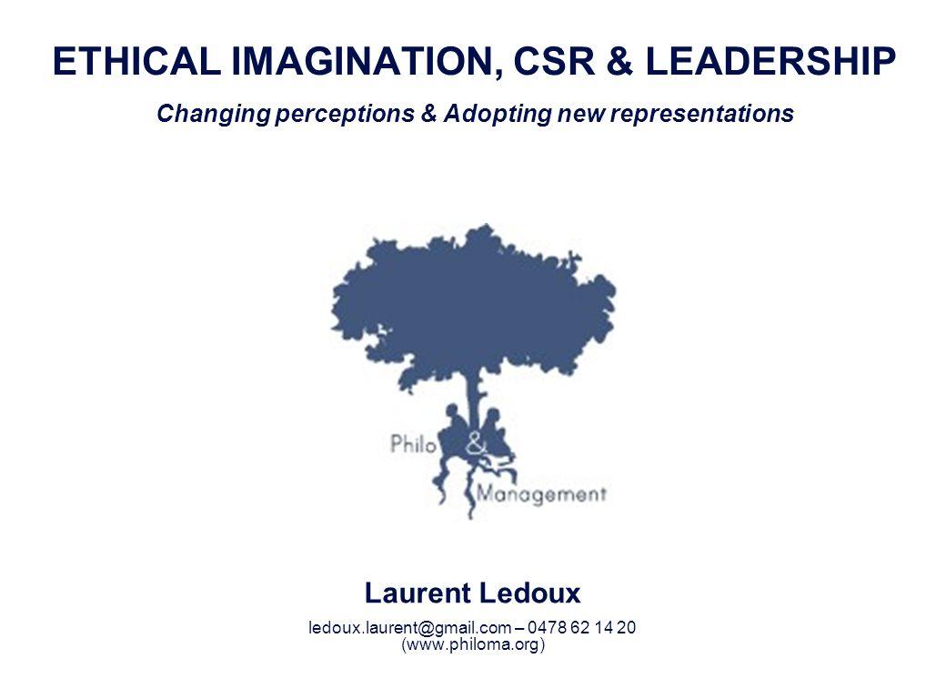 Laurent Ledoux 52 Qui est instrumentalisé .Léthique ou les entreprises .