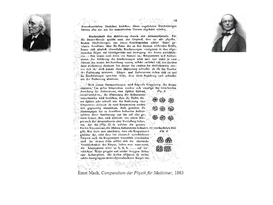 Ernst Mach, Compendium der Physik für Mediciner, 1863