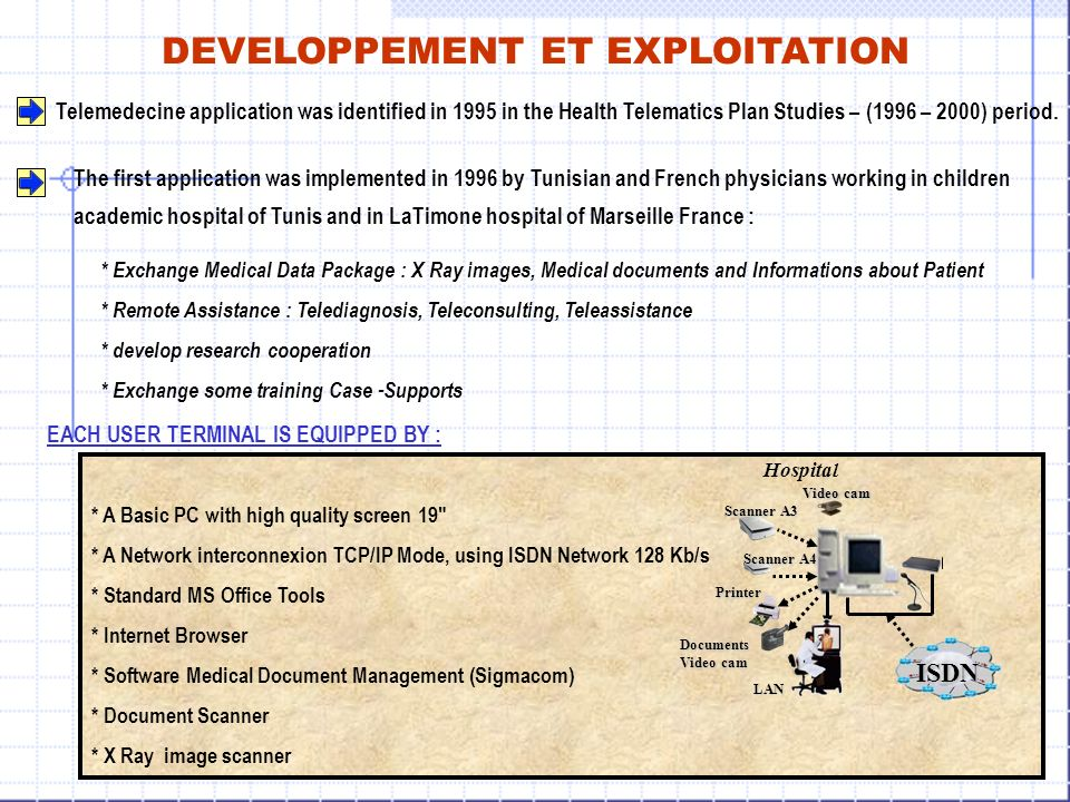 EVALUATION Telemedecine applications will : Encourage the equity through offering same health utilities of all citizens.