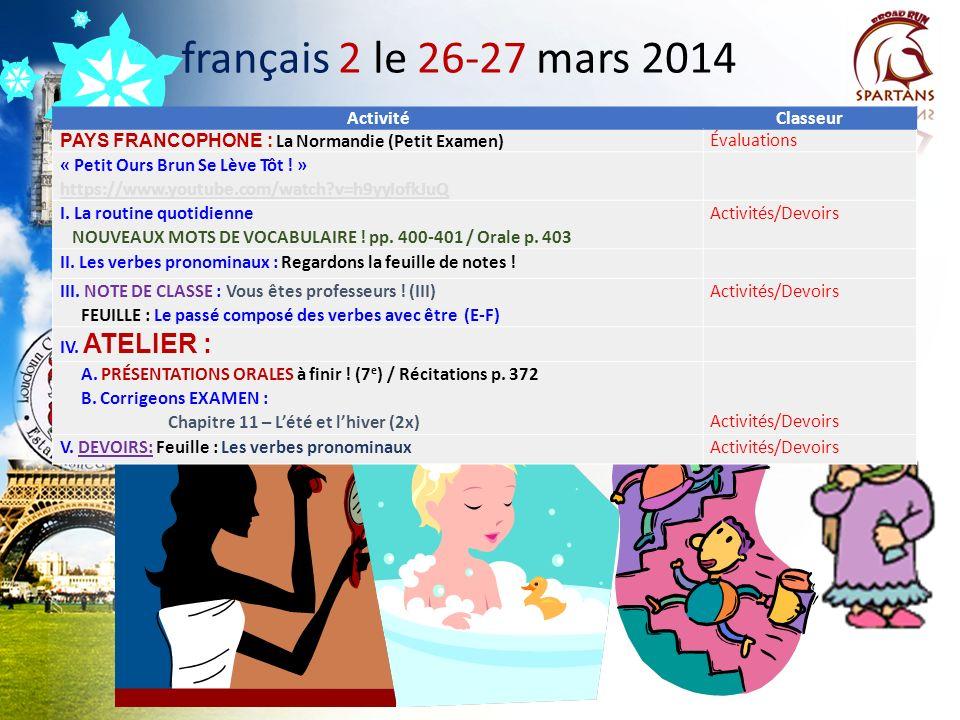 Des annonces à noter! A.Le voyage en France, en Suisse, et en Italie: COUPS DE TÉLÉPHONE INDIVIDUELS B. Twitter: @drdinicolaparle / Socrative Student