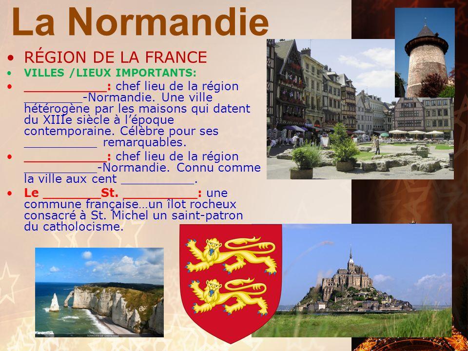 La Normandie LE MONT ST. MICHEL