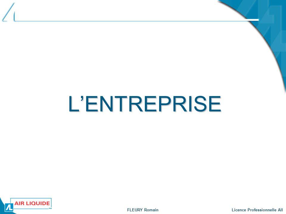 FLEURY Romain Licence Professionnelle AII Présentation globale Site Intranet Sommaire Lentreprise Le Projet Introduction Objectifs Plan dévelop.