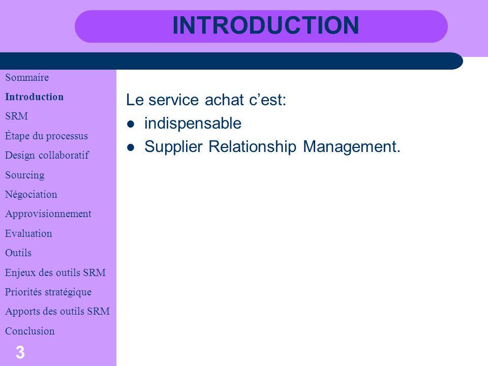 4 Supplier Relationship Management la gestion des relations fournisseurs.