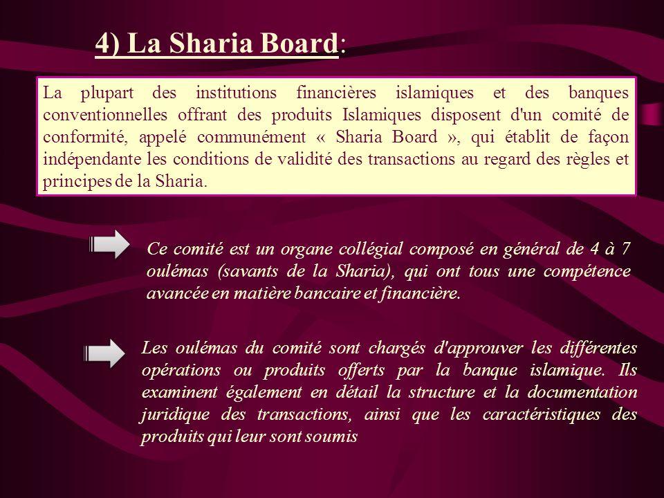 La Sharia exige également que tout musulman ne peut traiter des biens jugés illicites ou Haram. ( Jeux du hasard, alcool, armement, …) Du point de vue