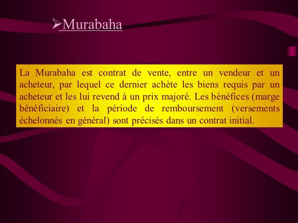 Principe de Musharaka, Herbert Smith (2009), le guide de la finance islamique