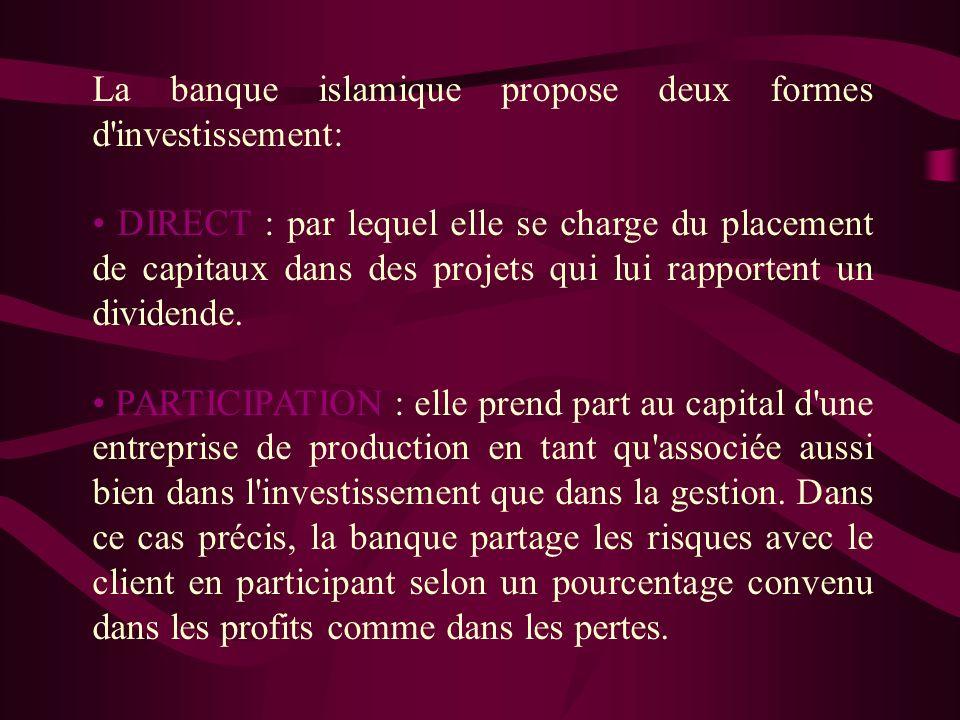 Objectifs des IFI : Promouvoir et encourager le respect des principes, lois et traditions islamiques dans les milieux de la finance, de la banque et d