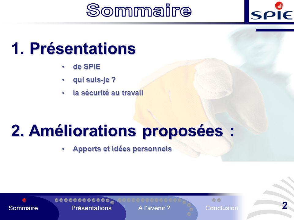 AU SEIN DES ÉCOLES QUE SE PASSE T-IL SommairePrésentationsA lavenir ?Conclusion 33