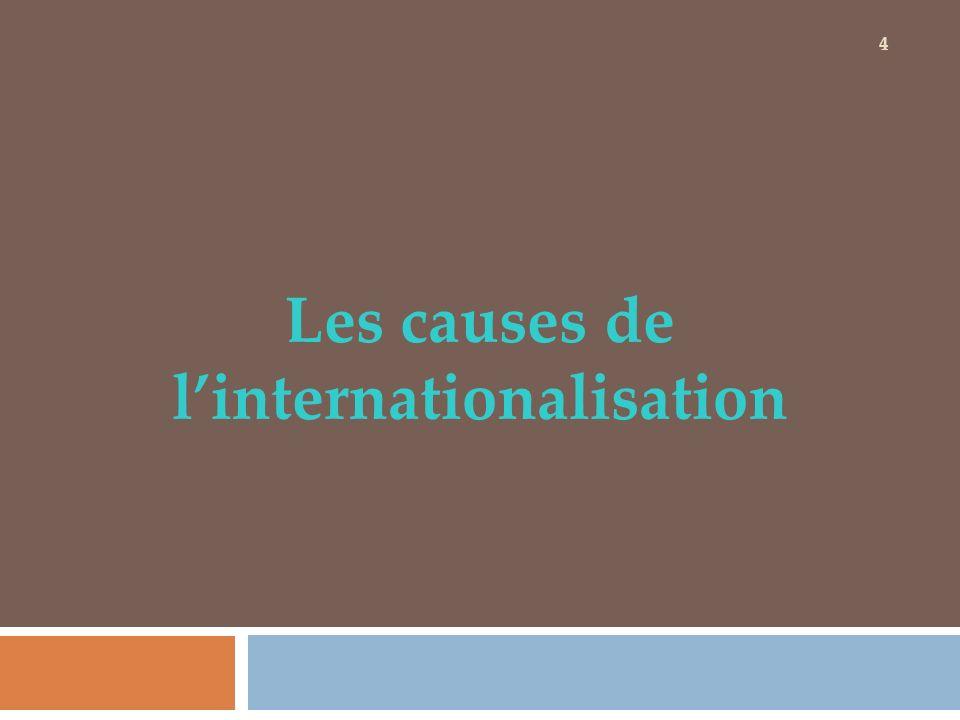 Les causes de linternationalisation 4