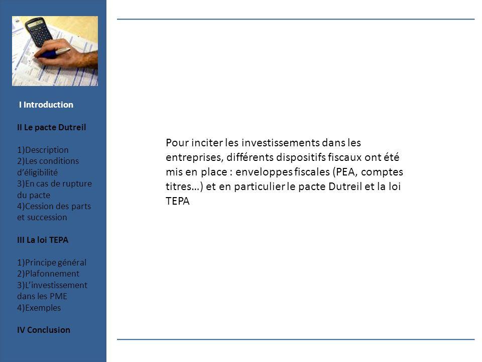 Pour inciter les investissements dans les entreprises, différents dispositifs fiscaux ont été mis en place : enveloppes fiscales (PEA, comptes titres…