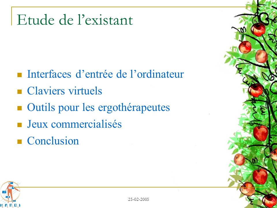 25-02-2005 25 Description dEfficaSouris Les objectifs Les cibles Partie Jeu Partie Statistique