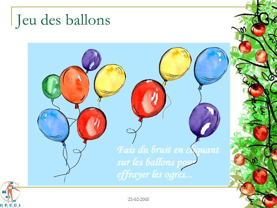 25-02-2005 46 Jeu des ballons