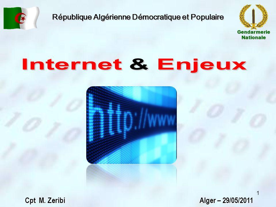 Introduction Constat Mesures prises Approche Conclusion Problématique État des lieux dInternet au monde 12