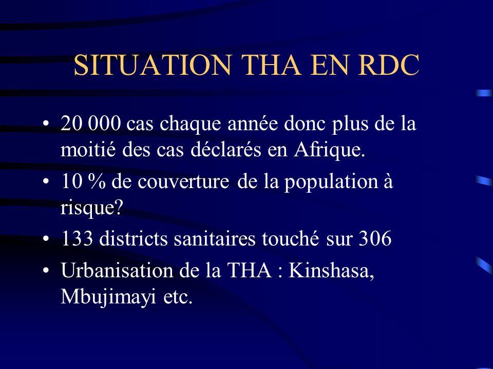 CONTRÔLE DE LA TRYPANOSOMIASE HUMAINE AFRICAINE Quelques défis après le MCM Pascal Lutumba RD CONGO