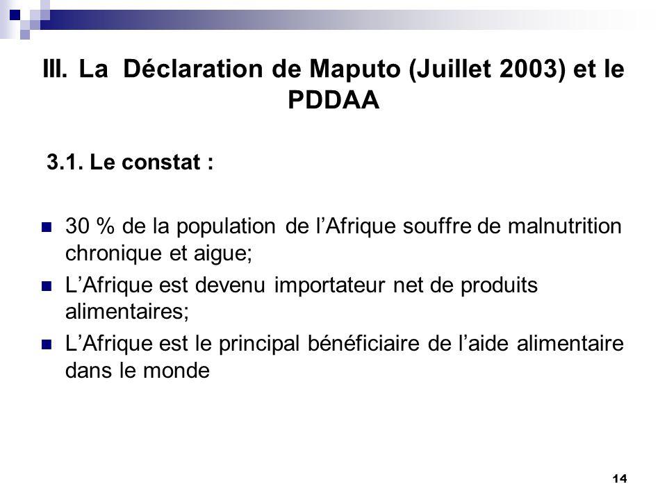2.5. Les programmes de la CEEAC en matière dagriculture Le Programme Régional de Sécurité Alimentaire en Afrique Centrale (PRSA-AC) issu de la fusion